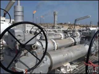 عکس آرشیوی از خط لوله گاز در ایران