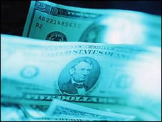 Billetes de 20 dólares.