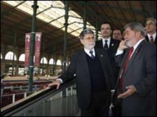 Lula em Paris. Foto: Ricardo Stuckert/PR