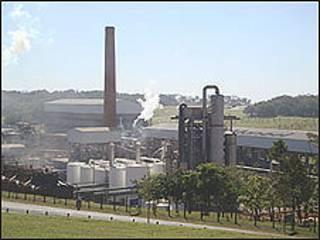 Usina de etanol no Brasil