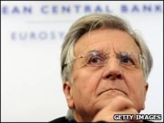 O presidente do Banco Central Europeu, Jean-Claude Trichet
