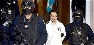 Vicente Carrillo Leyva foi preso na Cidade do México
