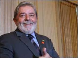 O presidente Luiz Inácio Lula da Silva nesta quinta-feira, em Londres (Ricardo Stuckert/PR)