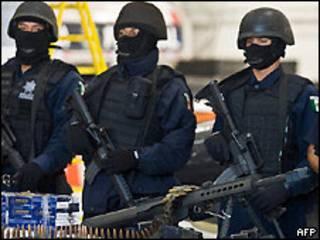 پلیس فدرال مکزیک