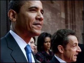 باراک اوباما و نیکولا سارکوزی