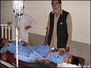 میرانشاہ میں زخمی ہونے والے بچے