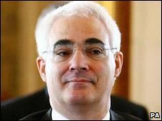 Bộ trưởng Tài chính Anh, Alistair Darling