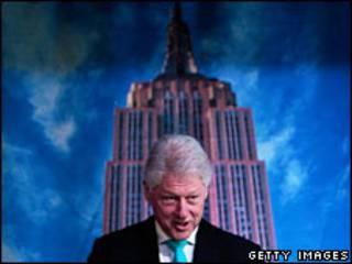 Tòa nhà Empire State và ông Clinton
