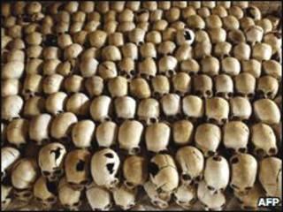 Vítimas do genocídio