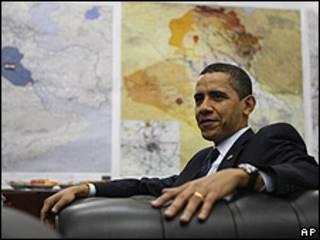 Barack Obama en Irak, 7 abril 2009
