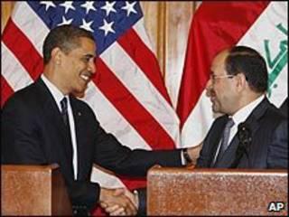 Tổng thống Obama và Thủ tướng Iraq Nouri al-Maliki