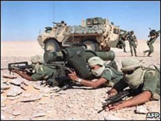 Soldados da Legião Estrangeira (AFP/arquivo)