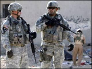 سربازان آمریکایی در موصل-آرشیو