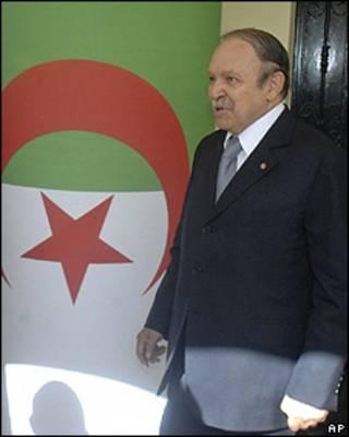 Abdelaziz Bouteflika, presidente de Argelia