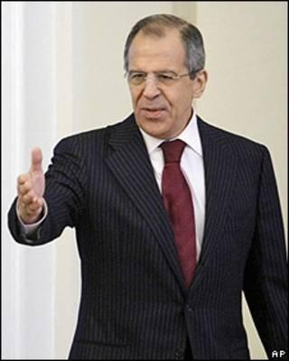 Sergei Lavrov, canciller de Rusia