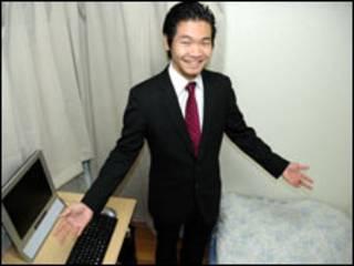 Empresário Koji Kawamata. Foto: Ewerthon Tobace/Para a BBC Brasil