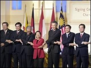 Một số lãnh đạo Asean
