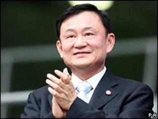 Ex-premiê tailandês Thaksin Shinawatra