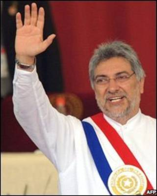 Presidente Fernando Lugo (arquivo)