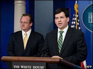 Rueda de prensa en la Casa Blanca