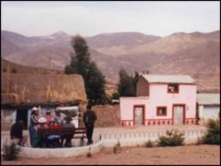 Andes en Perú