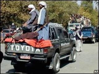 Militantes do Talebã no Afeganistão (arquivo)