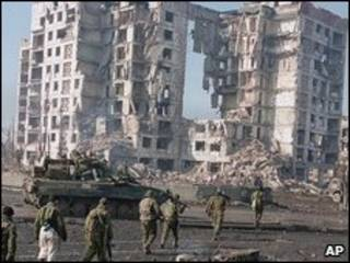 Grozny, capital de Chechenia
