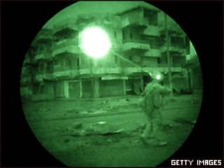 Soldado en Irak