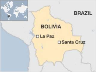 Ramani ya Bolivia