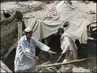 अफ़ग़ानिस्तान में भूकंप (फाइल)