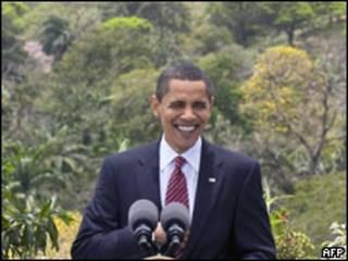 Barack Obama em Trinidad e Tobago