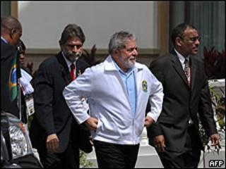Lula em Trinidad e Tobago