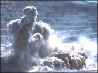 انفجار معدن - عکس آرشیوی