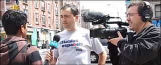 Periodistas de BBC Mundo en Nueva York