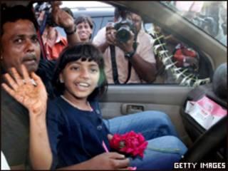 Rafiq Qureshi e sua filha, Rubina Ali