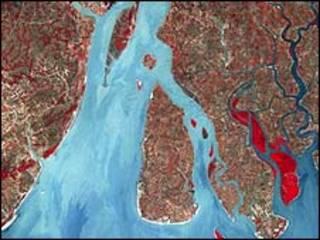 Desembocadura del Ganges