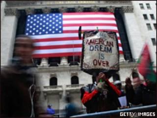 Protesta en Wall Street