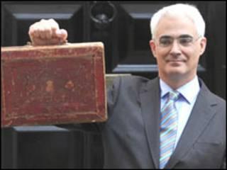 Alistair Darling, ministro da Fazenda britânico