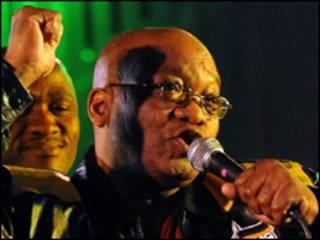 Jacob Zuma/AFP