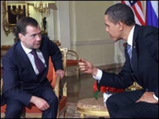 اوباما، مدودوف