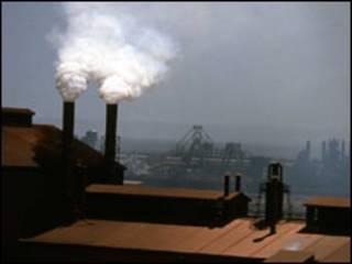 Gases poluentes