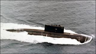 Tàu ngầm hạng Kilo (ảnh minh họa)