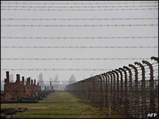 Imagen del que fue el campo de concentración Birkenau en Oswiecim (Auschwitz).