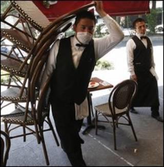 رستورانها در پایتخت مکزیک می بندند