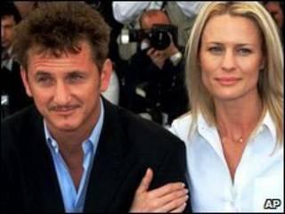 Sean Penn e Robin Wright Penn