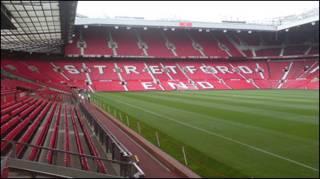 Sân Old Trafford - nguồn Wikipeadia.org