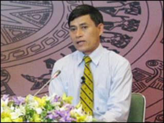 Thứ trưởng Công thương Lê Dương Quang (ảnh của website Chính phủ)