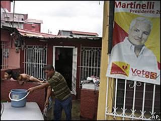 Propaganda electoral de Ricardo Martinelli en Panamá.