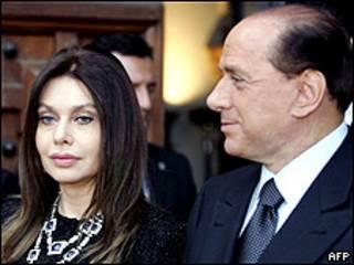 Veronica e Silvio Berlusconi