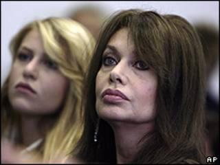 Veronica Lario, esposa de Silvio Berlusconi.